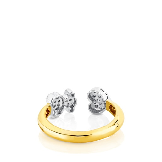 Gold New Sweet Dolls Ring