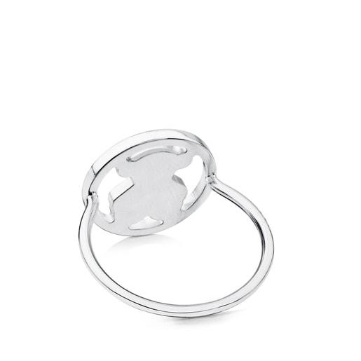 Ring Camille aus Silber mit Chalzedon