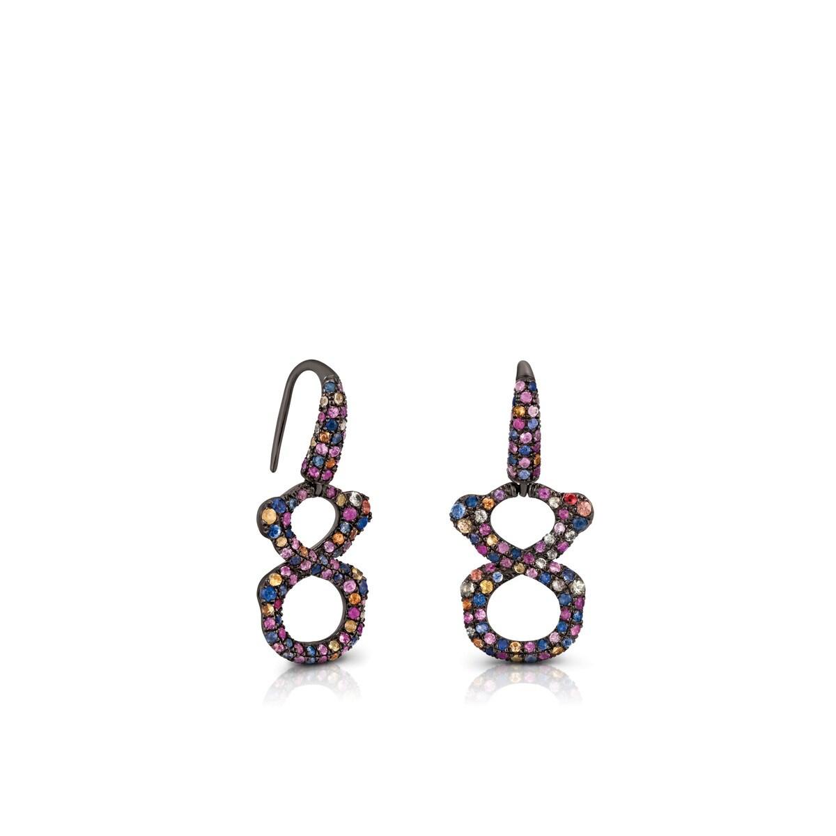 Silver Infinit Earrings