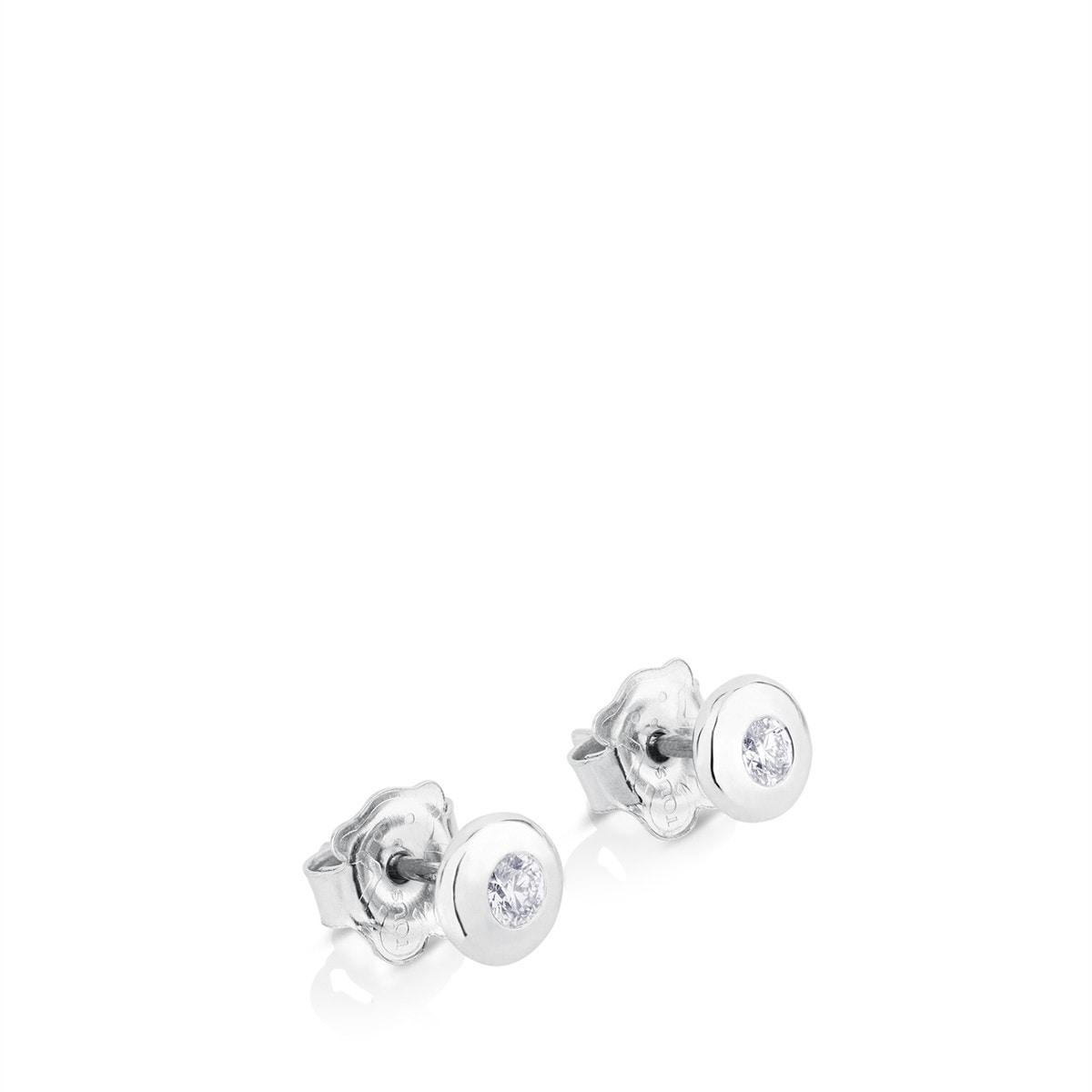 9fab579a8978 Pendientes TOUS Diamonds de Oro blanco con Diamantes - Tous Site ...