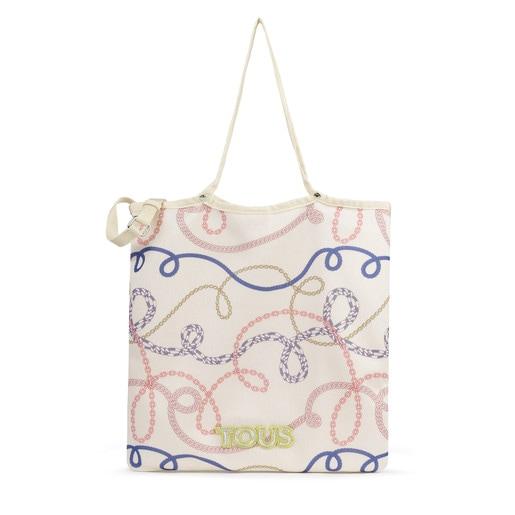 Πολύχρωμη τσάντα για ψώνια Jodie