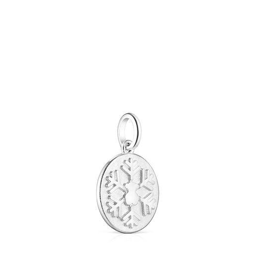 Silver Xmas Collection snowflake Pendant