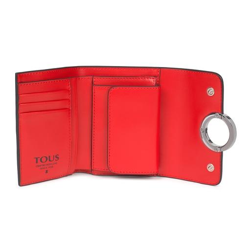 Billetera pequeña Audree roja
