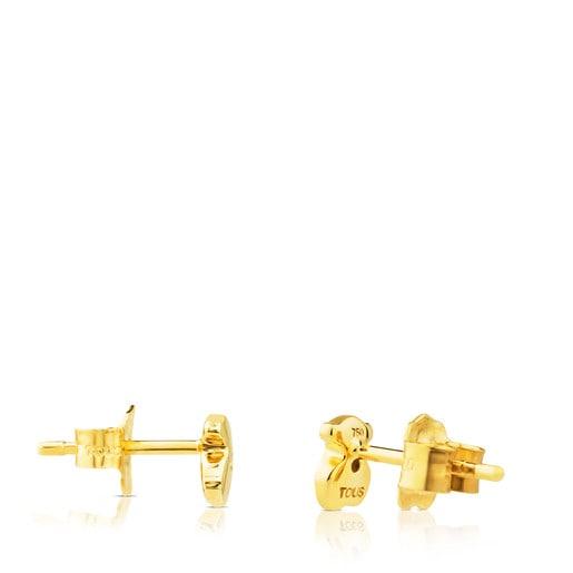 Gold Somni Earrings with Diamond