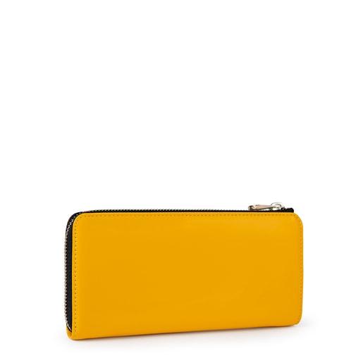 Medium yellow Dorp Wallet