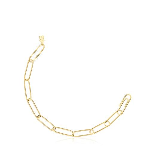 Pulseira TOUS Chain clip em Prata Vermeil