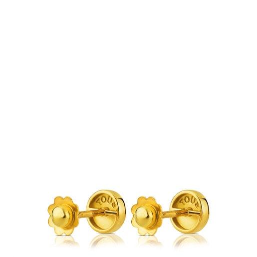 Ohrringe Baby TOUS aus Gold.