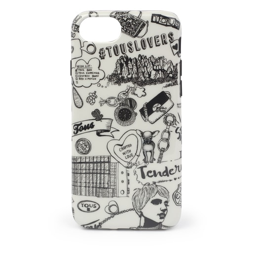 Beige Centenary Delray iPhone 6S/7/8 cell phone case