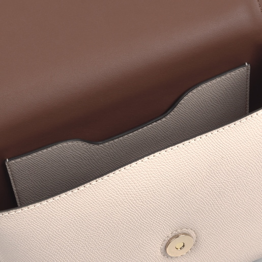 Bandolera Tous  Essencial beige y marrón