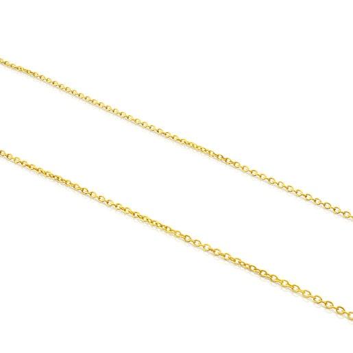 Medium 70cm Silver Vermeil TOUS Chain Chain.