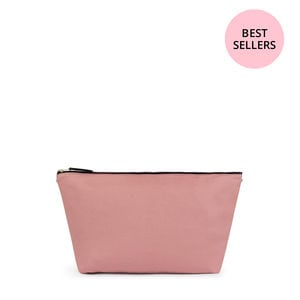 Bolsa mediana Kaos Shock en color rosa-beige
