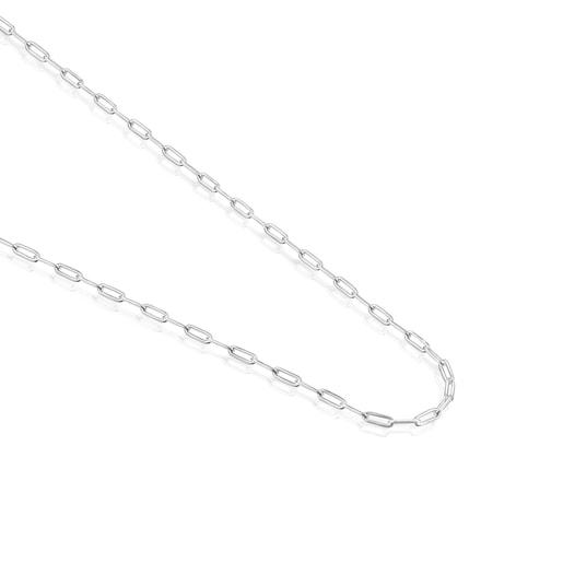 Cadena larga TOUS Chain oval de plata, 95cm.