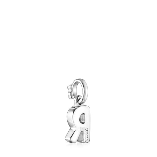 Pendentif Alphabet lettreR en Argent