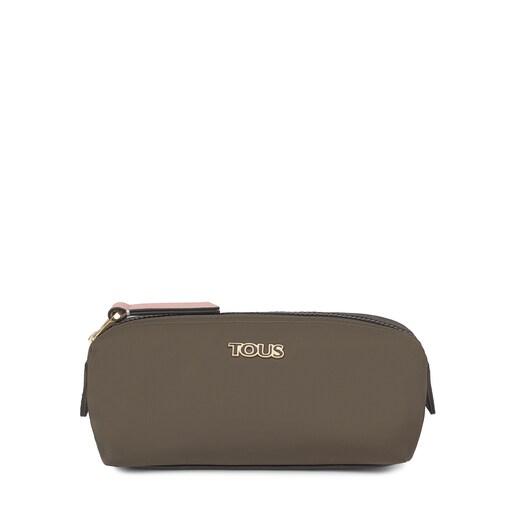 Medium khaki Shelby Toiletry bag