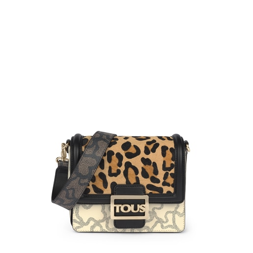 Small Kaos Icon Wild Multi Black Shoulder Bag