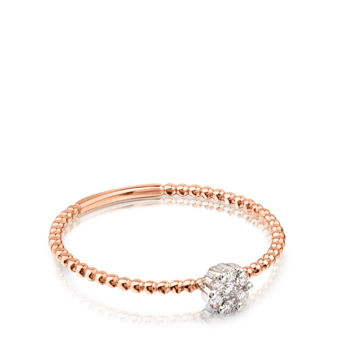Rose gold TOUS Brillants Ring with Diamonds