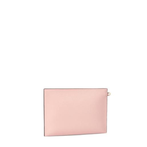Mala clutch TOUS Essential multi rosa