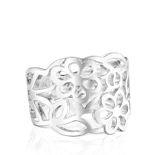 Feiner Ring Antic aus Silber