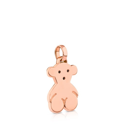Rose Vermeil Silver Sweet Dolls Pendant with Spinel