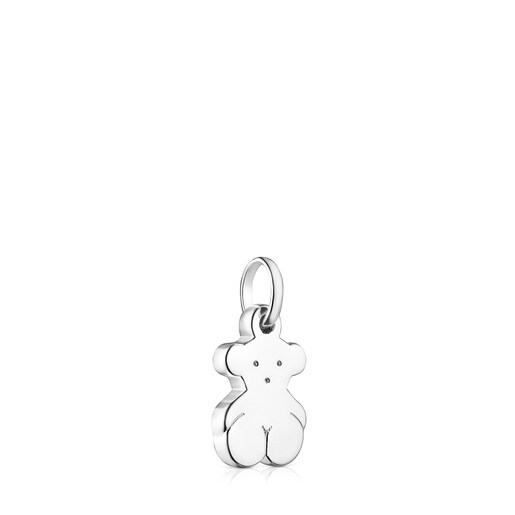 Small Silver Sweet Dolls bear Pendant