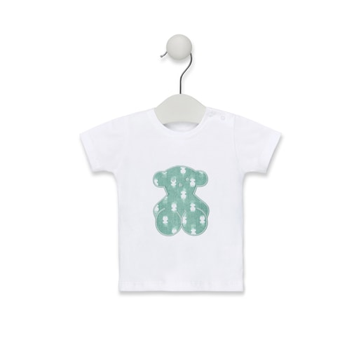 Camiseta de playa Pin up-Tai Verde