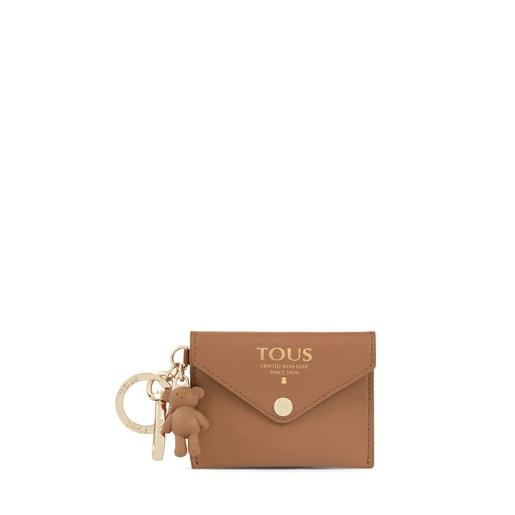 Brown TOUS Envelope Key ring with mini toiletry bag