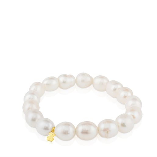 Pulseira TOUS Pearls em Ouro