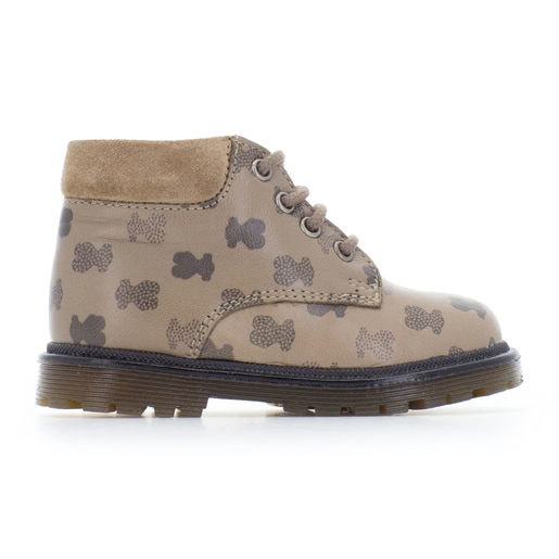 Run casual boots in Taupe
