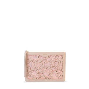 Pink Kaos Shock Clutch bag