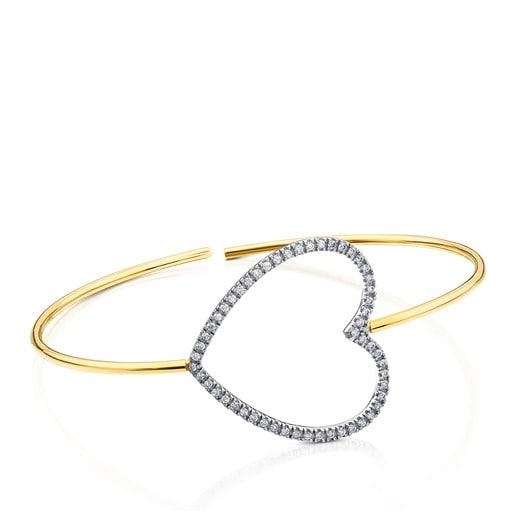 Pulsera-Pendiente TOUS Diamonds de Oro blanco