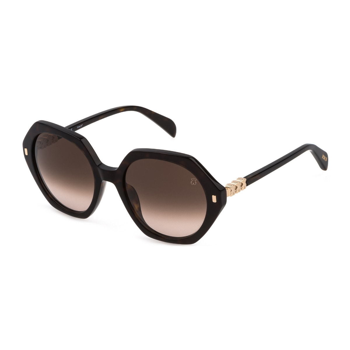 Bear Seventies Havana brown sunglasses