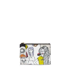 Multi-black Tous Tribe purse-cardholder