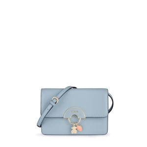 Small blue Hold Crossbody Bag