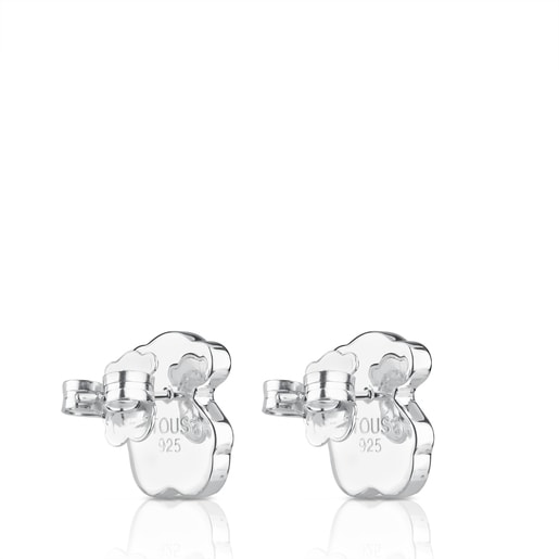 Silver TOUS Nacars Earrings