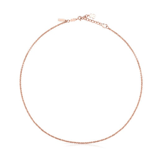Pendentif de bracelet TOUS Basics en Or Vermeil rose