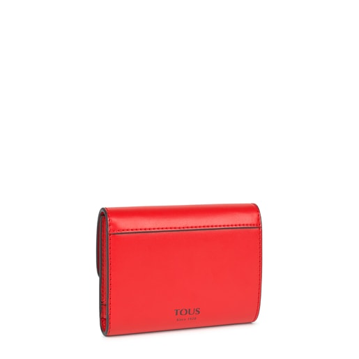 Small red Audree Wallet
