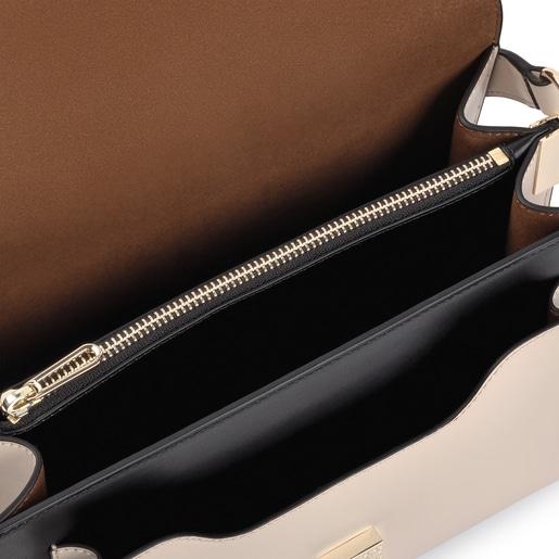 Medium black and beige Audree Sketx Crossbody bag