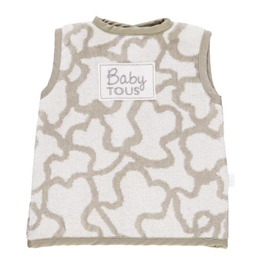 Bavoir T-shirt Kaos gris