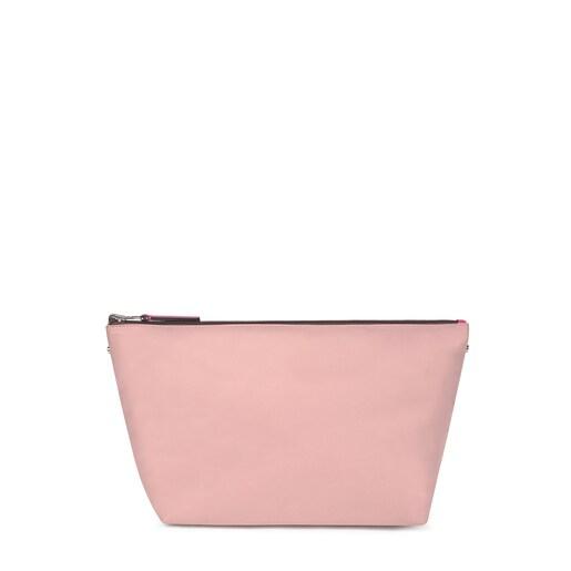 Μεσαίου μεγέθους ροζ τσάντα δύο όψεων Kaos Shock Shelby