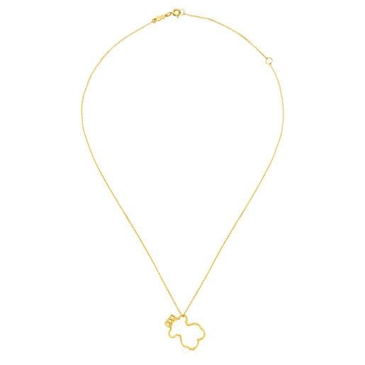 Halskette Silueta aus Gold