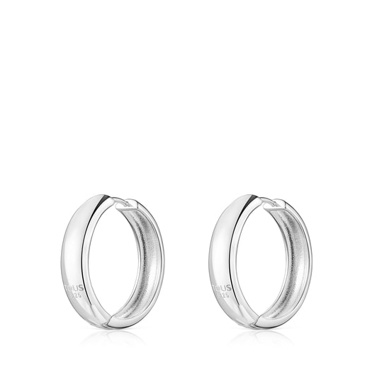 Silver TOUS Basics Earrings