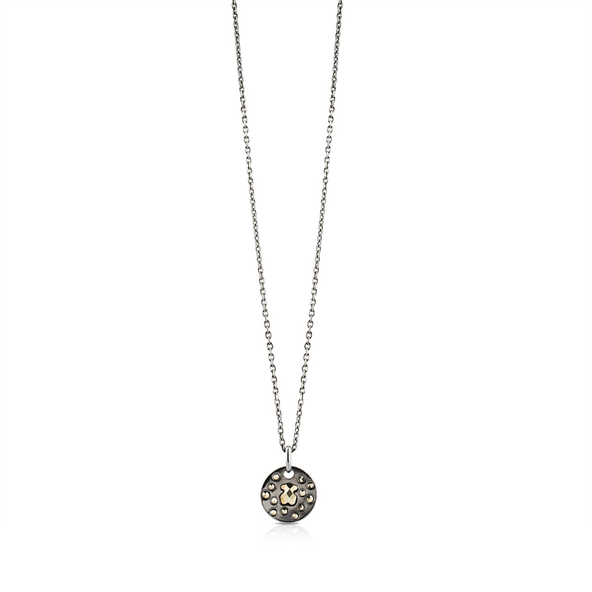 Silver Grace Necklace with Marcasite
