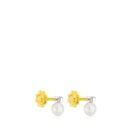 Aretes TOUS Diamonds de Oro blanco