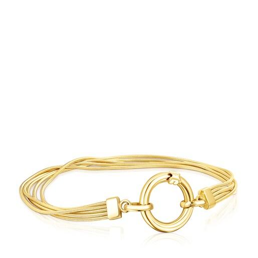 Silver Vermeil Hebi Bracelet