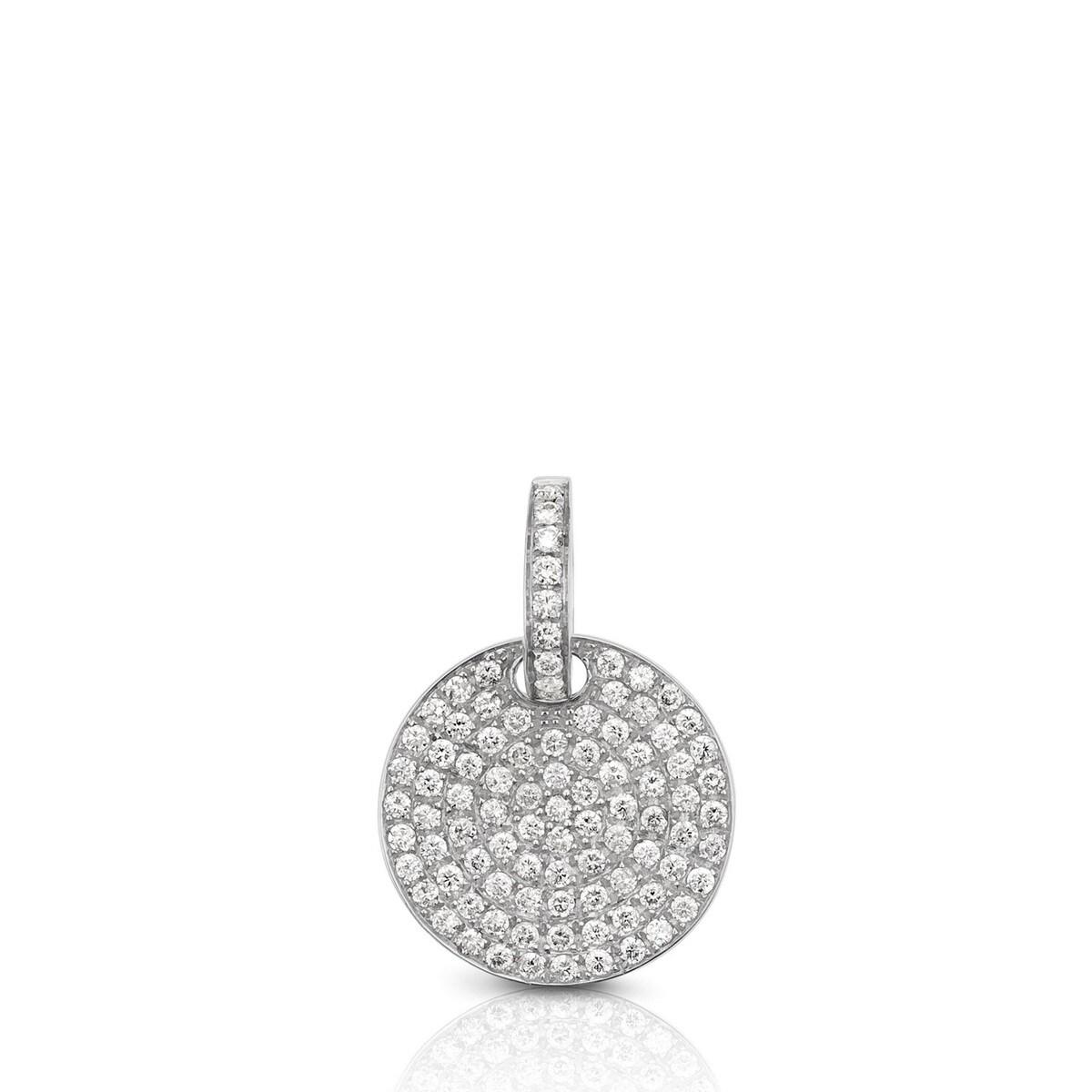 Dije Les Classiques de Oro blanco con Diamantes