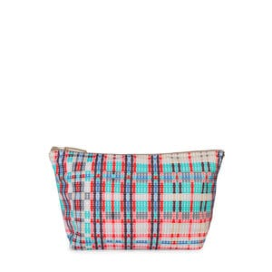Medium multicolored Kaos Shock Reversible Tartan Handbag