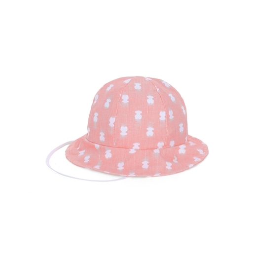 Gorro de playa niña Pin up-Tai Rosa