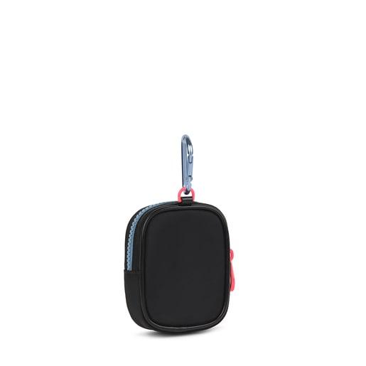 Small black and multicolored Ina Change purse