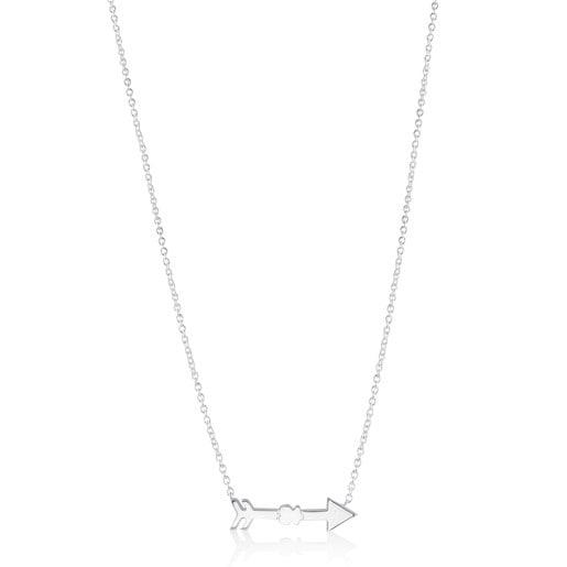 Silver Follow Necklace