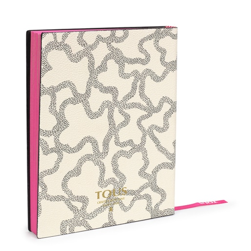 Kaos Icon notebook beige